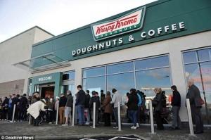 Krispy Creme picture thanks to Deadline News