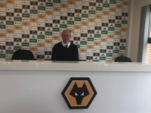 Wolverhampton Wanderers press conference